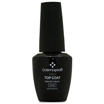 Топ без липкого слоя Top Coat, Cosmoprofi, 15 мл