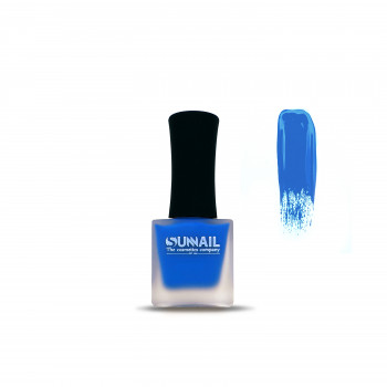 Краска для стемпинга голубая Sunnail