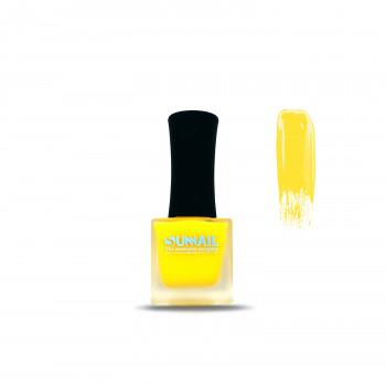 Краска для стемпинга желтый неон Sunnail