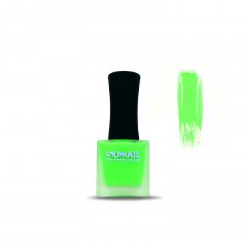 Краска для стемпинга зеленый неон Sunnail