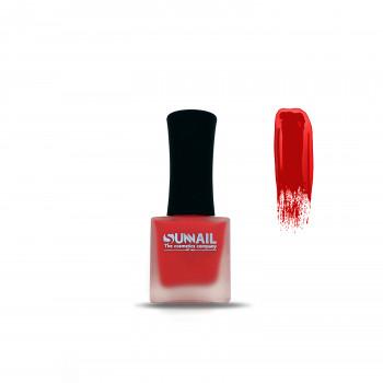 Краска для стемпинга красная Sunnail