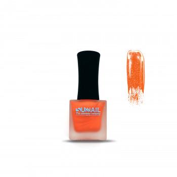 Краска для стемпинга оранжевый хром Sunnail