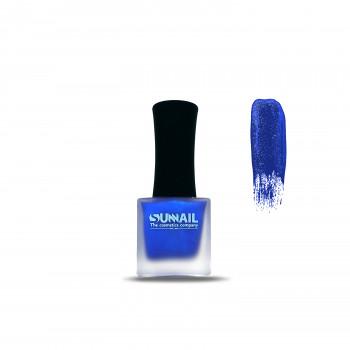 Краска для стемпинга синий хром