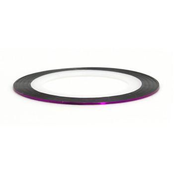 Лента (скотч) для дизайна ногтей №109 фиолетовая