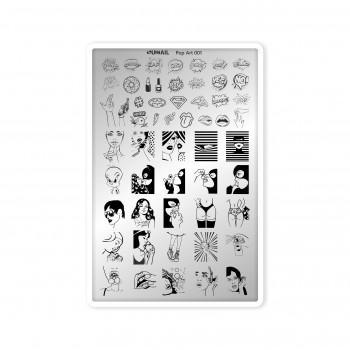 "Пластина для стемпинга ""Pop Art 001"" Sunnail"