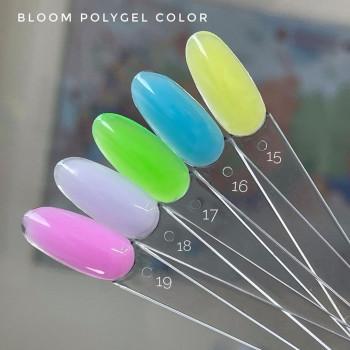 Полигель зеленый №17 Bloom, 12 гр