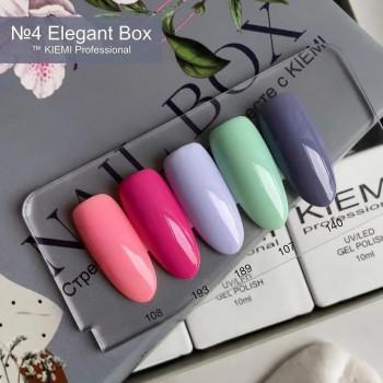 Nail Box KIEMI №4 ELEGANT