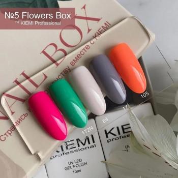 Nail Box KIEMI №5 FLOWERS