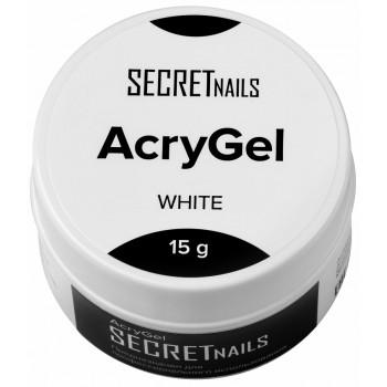 SECRETnails Acrygel White